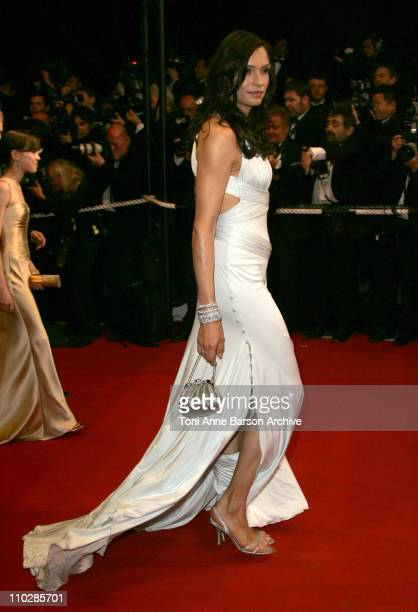 Famke Janssen during 2006 Cannes Film Festival 'XMen 3 The Last Stand' Premiere at Palais des Festival in Cannes France