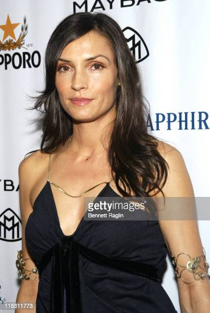 Famke Janssen during 2006 MTV Video Music Awards Sapporo Maybach Present Common Famke Janssen's VMA Cookout 2006 at Sky Studios in New York City New...