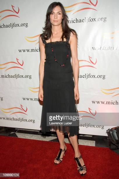 Famke Janssen during A Funny Thing Happened on the Way to Cure Parkinson's A Benefit Evening for The Michael J Fox Foundation for Parkinsons Research...