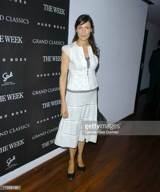 """Famke Janssen during """"A Place In the Sun"""" Screening at SoHo House in New York City at SoHo House in New York City, New York, United States."""
