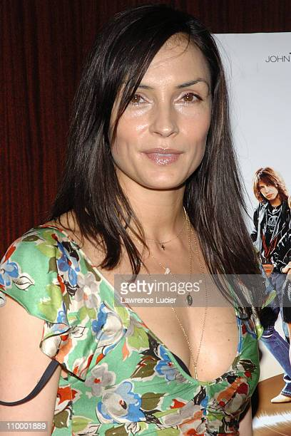 Famke Janssen during Be Cool New York City Screening at MGM Screening Room in New York City New York United States