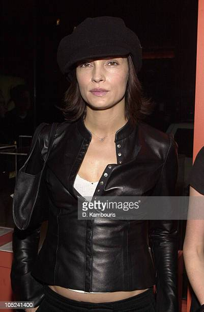 Famke Janssen during Cartier Party for its SoHo Grand Opening at Cartier SoHo in New York City New York United States