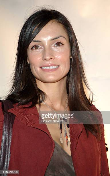 Famke Janssen during Denis Leary And Carson Daly Host The 4th Annual Bash For New York's Bravest at Capitale in New York City New York United States