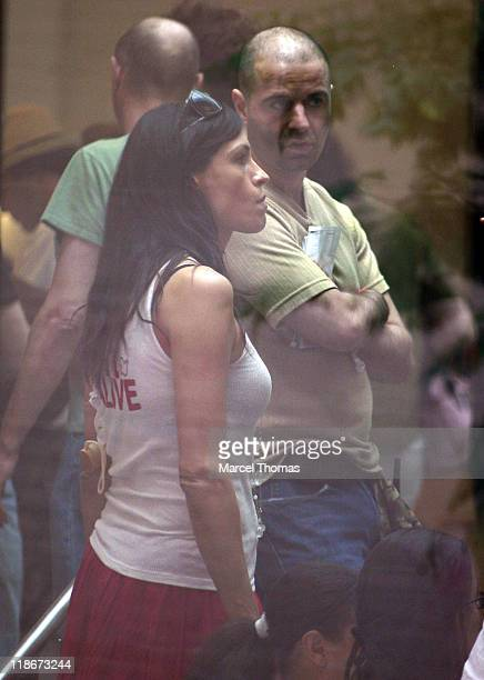 Famke Janssen during Famke Janssen Sighting in New York City June 28 2006 in New York City New York United States