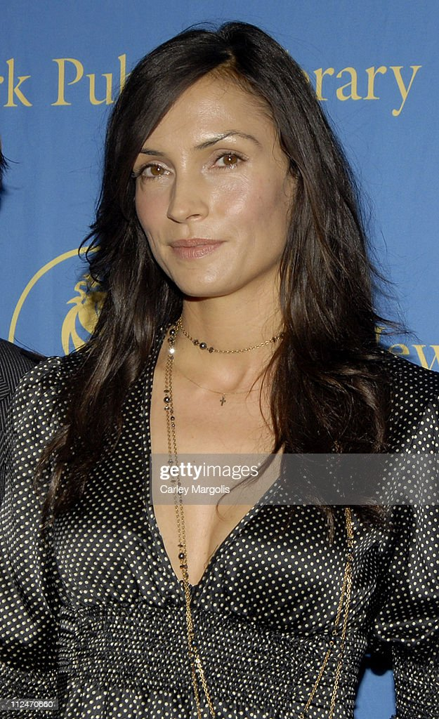 Famke Janssen, Terrence Howard and Ethan Hawke Appear at The New York Public