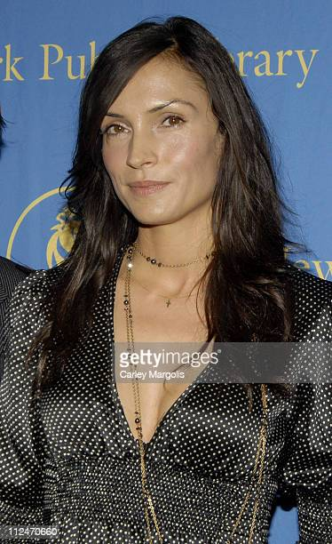 Famke Janssen during Famke Janssen Terrence Howard and Ethan Hawke Appear at The New York Public Library's 2006 Young Lions Fiction Award Ceremony at...