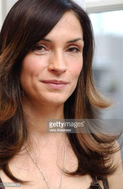 Famke Janssen during Hide and Seek Press Conference with Elisabeth Shue Famke Janssen and Dakota Fanning at Four Seasons Hotel in Beverly Hills...
