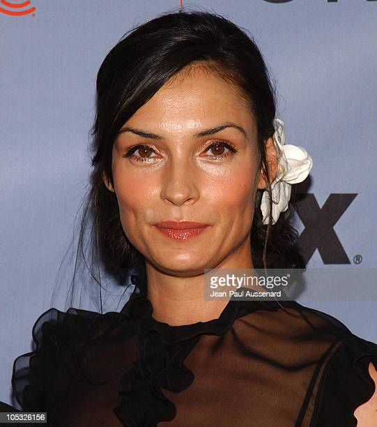 Famke Janssen during 'Nip/Tuck' Season Two Premiere Arrivals at Paramount Theatre in Los Angeles California United States