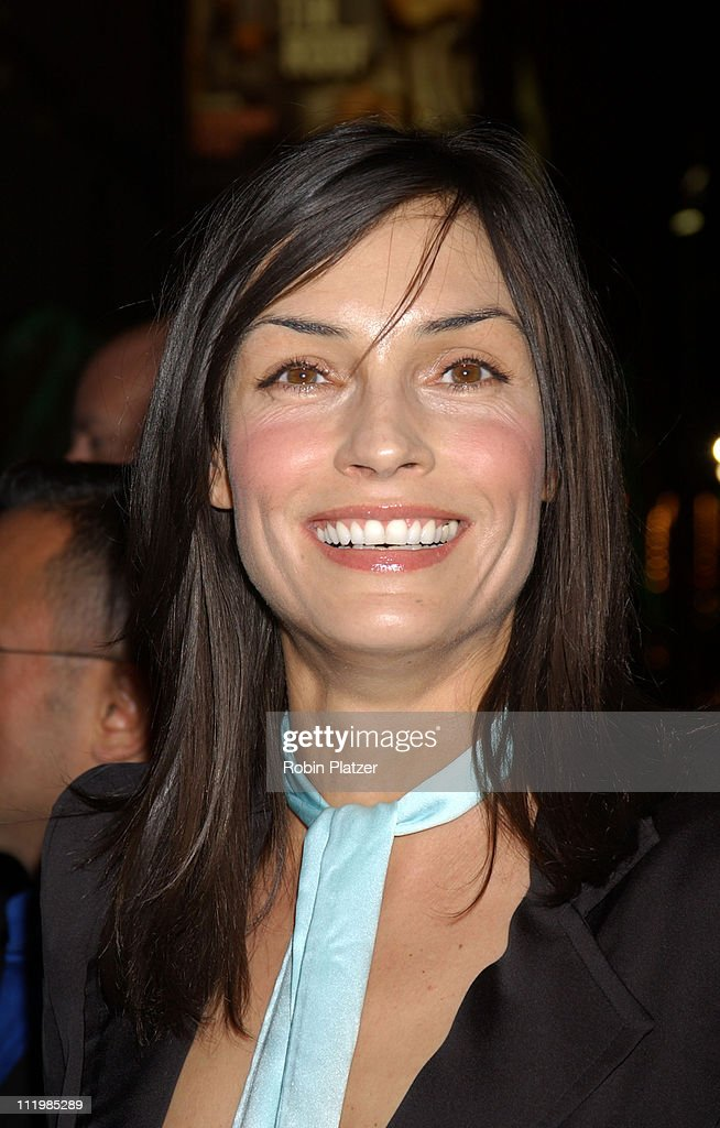 Famke Janssen during Opening Night of 'The Boy From Oz' - Arrivals and After Party at The Imperial Theater and Copacabana Nightclub in New York City, New York, United States.