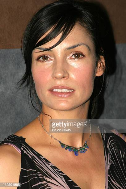 Famke Janssen during The Atlantic Theater Company 20th Anniversary Spring Gala at The Rainbow Room in New York City New York United States
