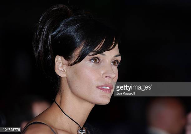 Famke Janssen during X2 XMen United Premiere Los Angeles Blue Carpet Arrivals at Grauman's Chinese Theatre in Hollywood California United States