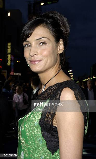 Famke Janssen during 'X2 XMen United' Premiere Los Angeles Blue Carpet Arrivals at Grauman's Chinese Theatre in Hollywood California United States