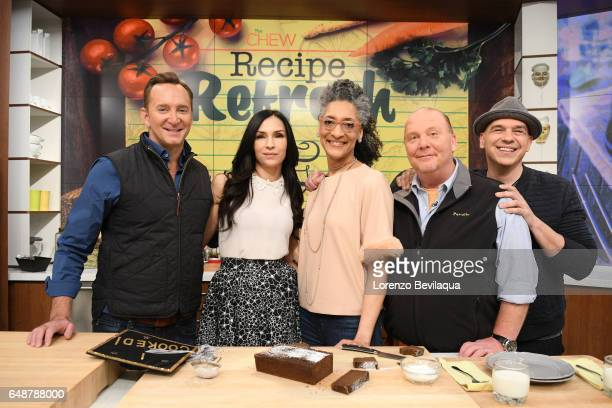 THE CHEW Famke Janssen is the guest today Tuesday March 7 2017 on Walt Disney Television via Getty Images's The Chew The Chew airs MONDAY FRIDAY on...