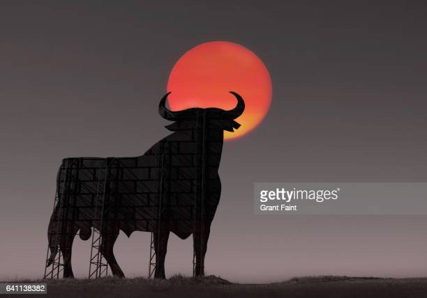 Famous advertising bull.