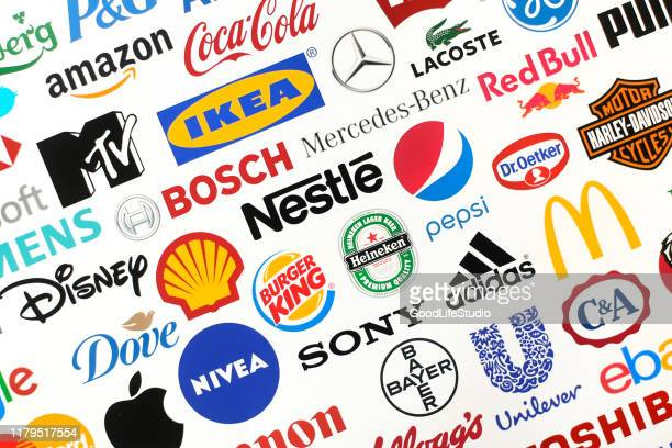 famous brands - puma designer label stock pictures, royalty-free photos & images
