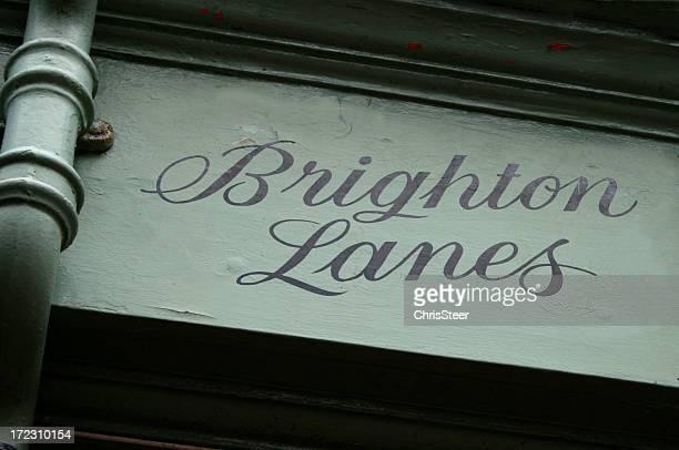 Famous Brighton Lanes