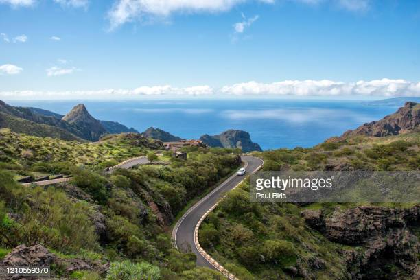 famous canyon masca at tenerife island - canary spain - tenerife stock pictures, royalty-free photos & images