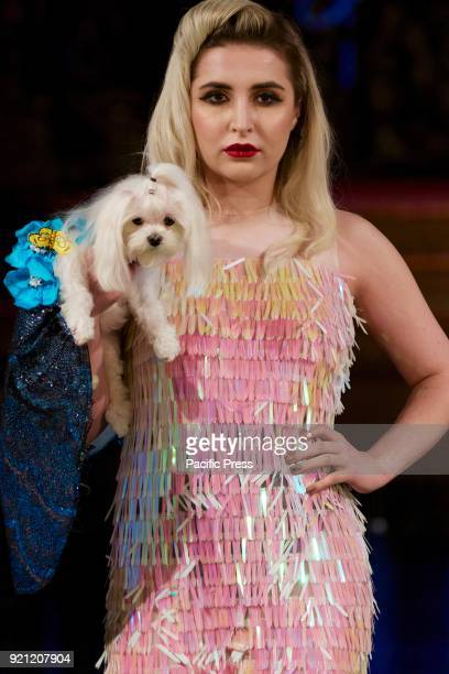Famous designer Anthony Rubio showed his new collection for dogs women at Art Hearts fashion in NYFW '18