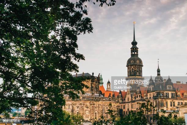 Famous Dresden Skyline .