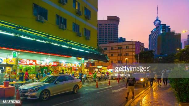 Famous Food Street  in Malaysia