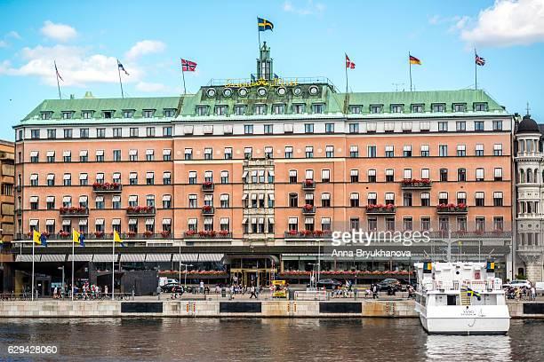 有名なグランド ホテル ストックホルム, スウェーデン - ストックホルム グランドホテル ストックフォトと画像