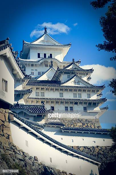 Famous Himeji Castle in Japan used by Shoguns and Samurais