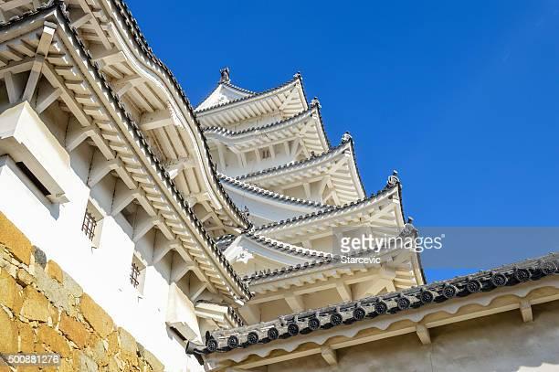 Berühmte Burg Himeji in Japan verwendet Shoguns und Samurais