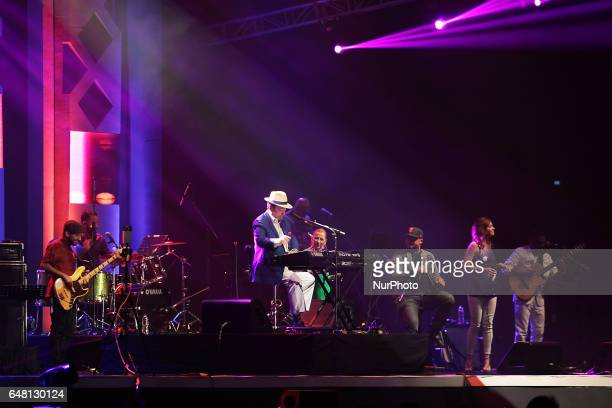Famous jazz bossa nova funk musician from Brazil and Grammy Award winner Sergio Mendes gave his stunning performance at the Jakarta International...