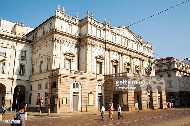 Famoso teatro La Scala.