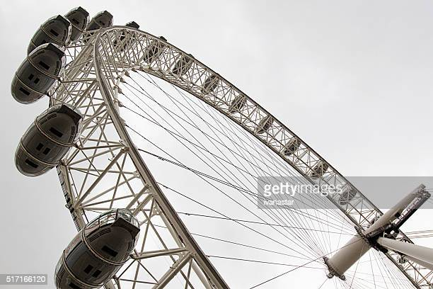 Famous London Eye Ferris Wheel
