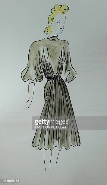 Famous Madame Gres Fashion Show At Bourdelle Museum In Paris Paris February 11 2011 exhibition of the collections of the museum Galliera 'Madame Gres...