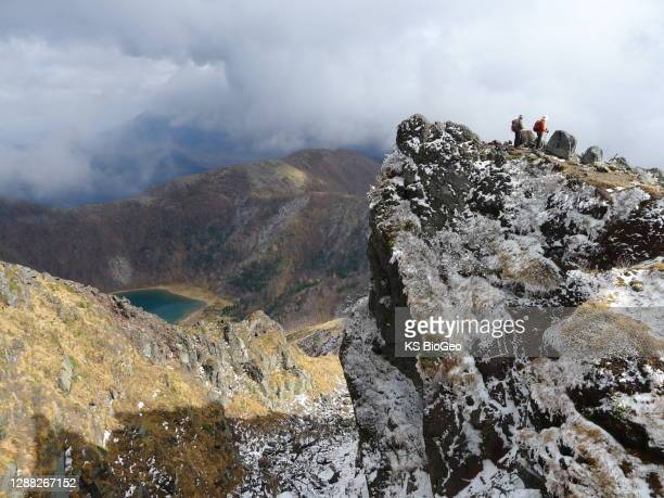 100 famous mountains in japan - nikko city stock pictures, royalty-free photos & images
