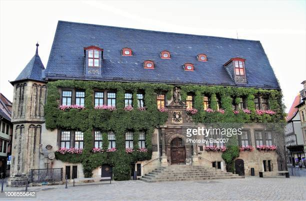 Famous old town hall in Quedlinburg.