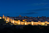 Old Town of Avila and Medieval Walls, Spain