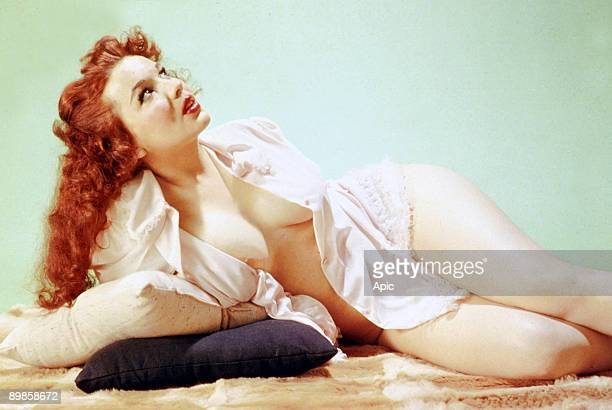 Famous pinup Blaze Starr in 1950