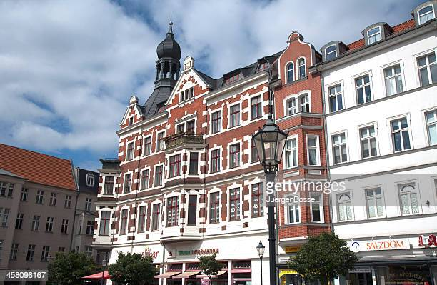 famous place in berlin - koepenick - köpenick stock pictures, royalty-free photos & images