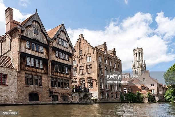 Famous Place in Bruges, Belgium