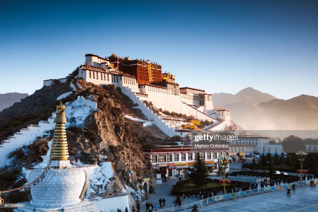 Famous Potala palace, Lhasa, Tibet, China : Stock Photo