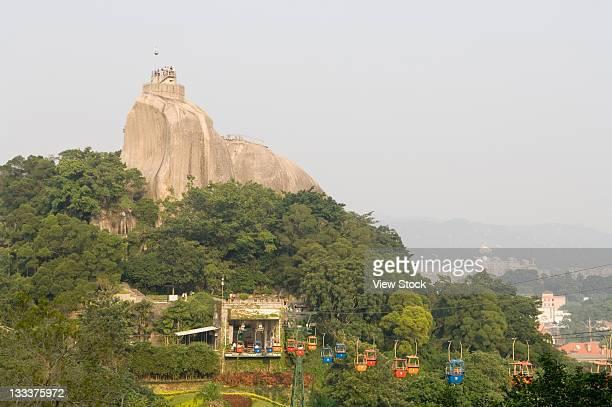 famous rock mountain in xiamen
