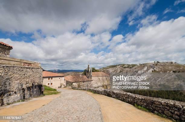 famous sanctuary of santa casilda in burgos province, castilla y - provinz leon stock-fotos und bilder
