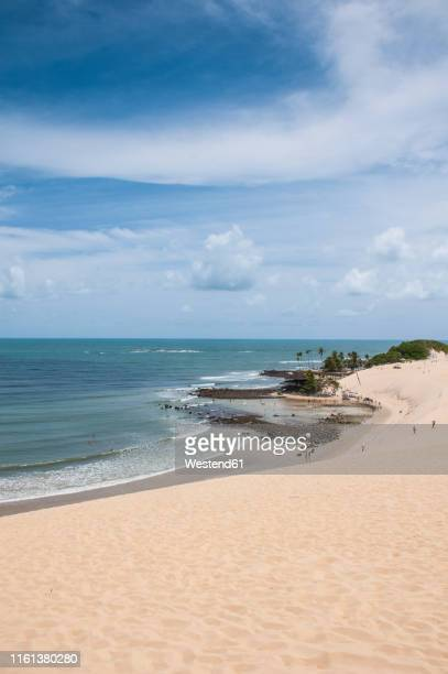 famous sand dunes of natal, rio grande do norte, brazil - natal brazil stock pictures, royalty-free photos & images