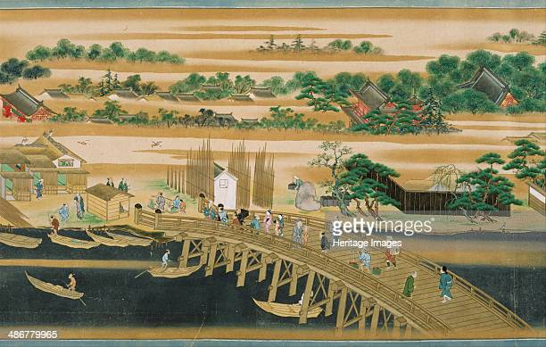Famous Sites of the Sumida River Second Half of the 18th cen Artist Anonymous