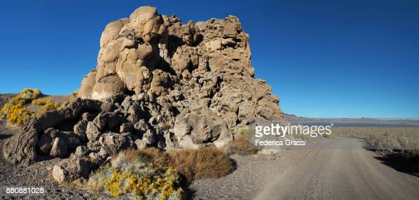 Famous Tufa Rock Formation Called Indian Head Rock