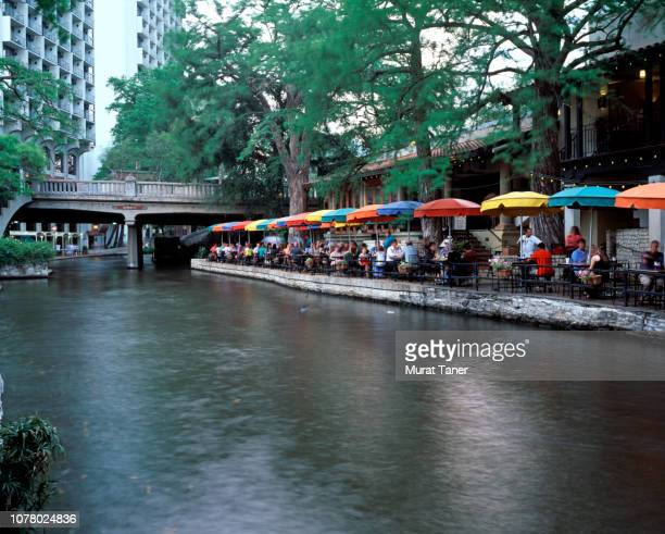 view famous san antonio river walk