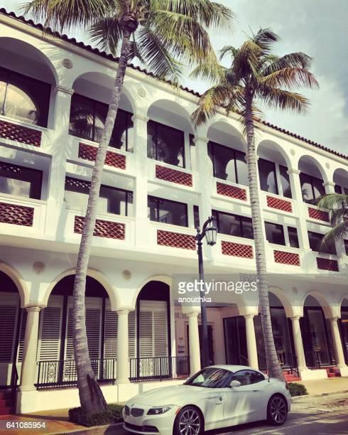 Famous Worth Avenue, shopping street, Palm Beach, USA