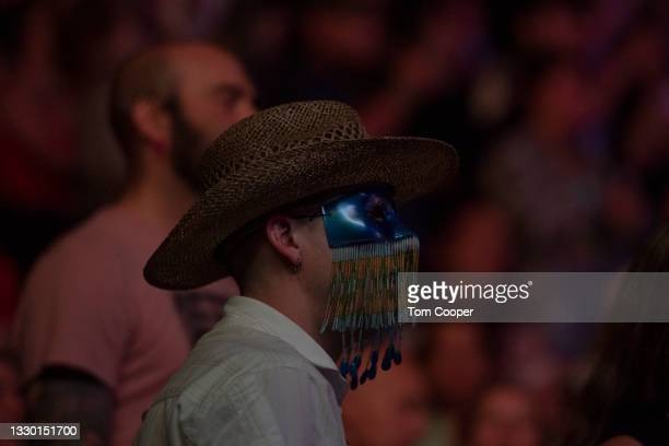 Fan at the Orville Peck Summertime Tour at Red Rocks Amphitheatre on July 22, 2021 in Morrison, Colorado.