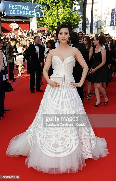 Fan Bing Bing at the Premiere for 'Biutiful' during the 63rd Cannes International Film Festival