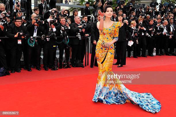 Fan Bing Bing at the premiere of Robin Hood during the 63rd Cannes International Film Festival