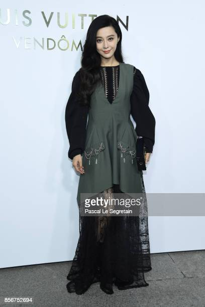 Fan Bing Bing attends the Opening Of The Louis Vuitton Boutique as part of the Paris Fashion Week Womenswear Spring/Summer 2018 on October 2 2017 in...
