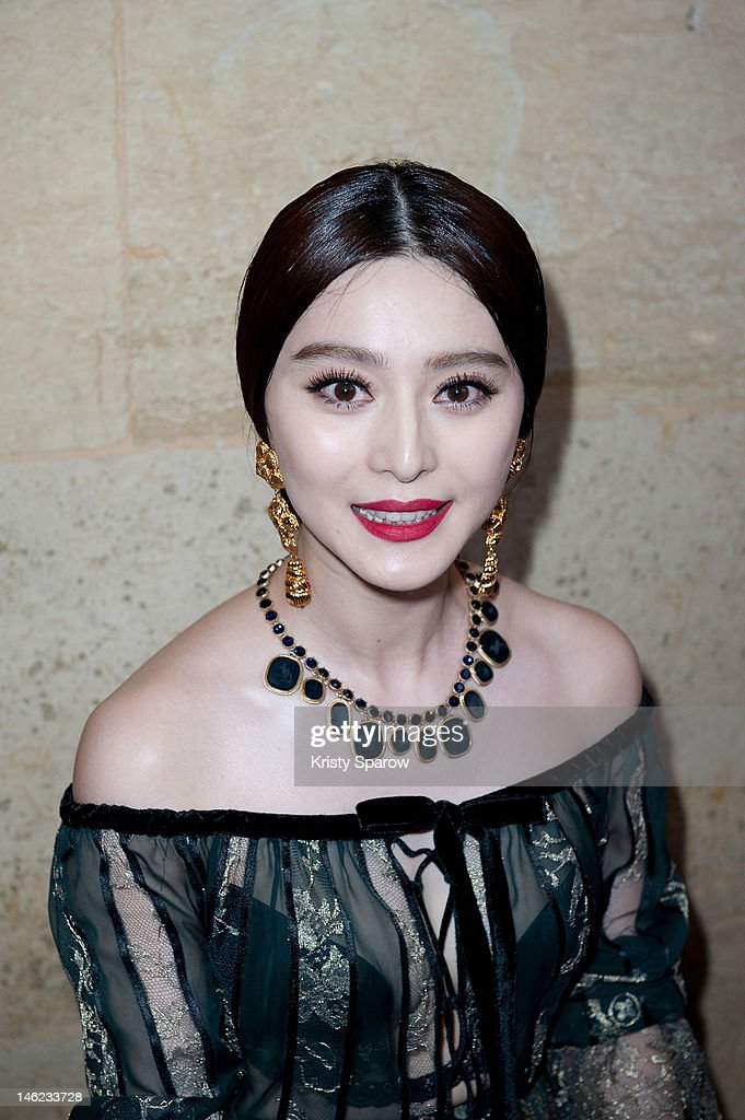 Fan Bing Bing attends the Salvatore Ferragamo Cruise Collection 2013 show presented at Galerie Denon at the Louvre Museum on June 12, 2012 in Paris, France.